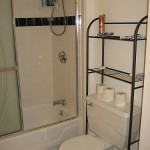 Shower in shared bath