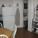 Shared kitchen: refrigerator, pantry